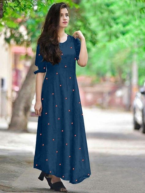 d20e859ae6 VF PUBG BY VF DESIGNER COLORFUL OCCASIONAL STYLISH RAYON PLAIN WITH ...