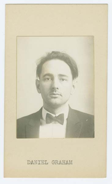 Sing Sing Prison mug shot of prisoner Daniel Graham (1928).     Source: Lewis Lawes Collection. Special Collections, Lloyd Sealy Library, John Jay College of Criminal Justice www.lib.jjay.cuny.edu/crimeinny