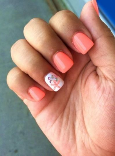 34 Trendy Nails Easy Simple Cute Nail Designs Summer Beach Beach Nail Designs Beach Nails