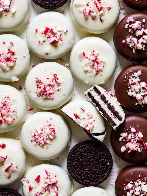 Christmas Chocolate, Christmas Desserts, Holiday Treats, Christmas Treats, Christmas Baking, Holiday Foods, Christmas Recipes, Christmas Cookies, Chocolate Covered Treats