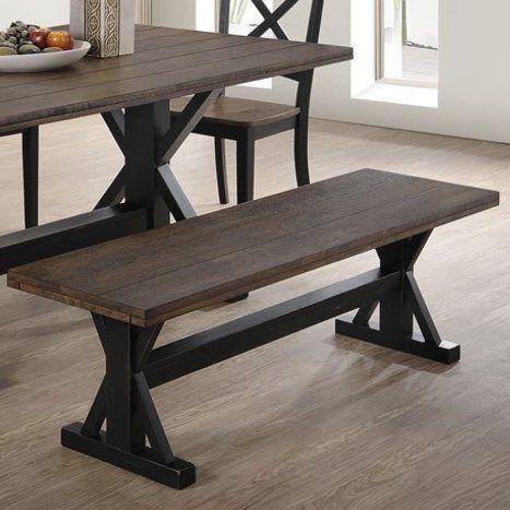 Landrum Wood Bench Wood Dining Bench Furniture Diy Furniture Chair