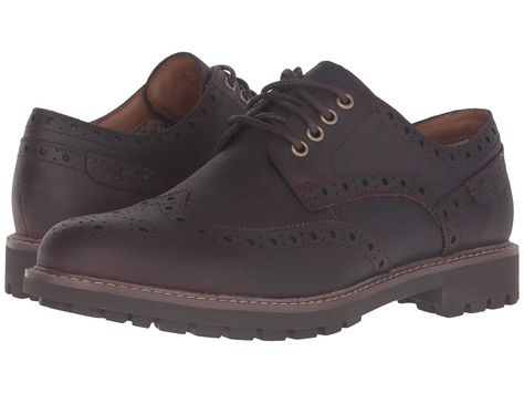db40f3d4efffe CLARKS CLARKS - MONTACUTE WING (CHESTNUT INTEREST LEATHER) MEN S LACE UP  WING TIP SHOES.  clarks  shoes