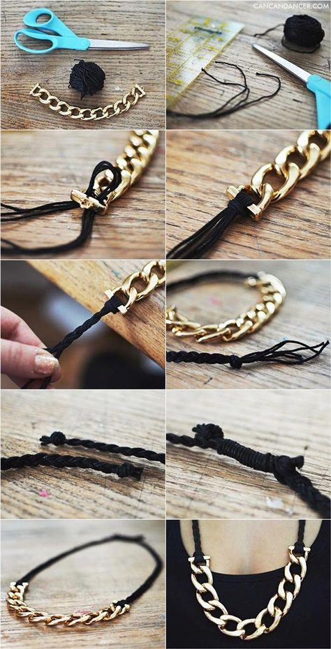 10 Easy But Unique Handmade #necklace Ideas For Women