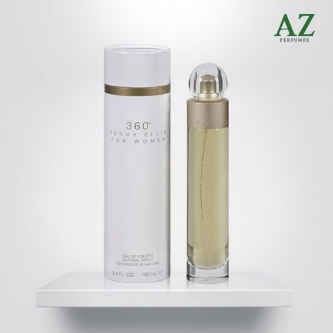 48576d7cf Perfume feminino 360º de Perry Ellis na AZ Perfumes!