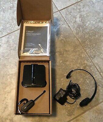 Ad Ebay Link Plantronics Cs 540 Wireless Headset W New Headset Hl 10 Lifter On Line Light In 2020 Wireless Headset Line Light Ebay