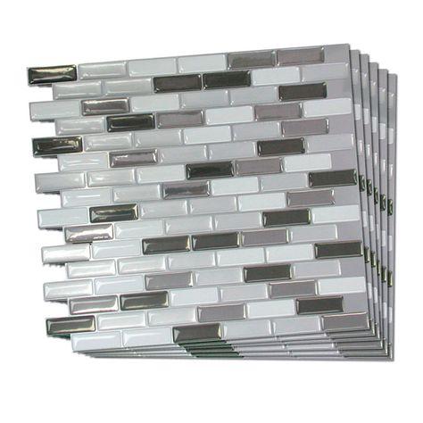 Tuile De Mosaique Autocollante Mosaique Adhesive Autocollant Tuile