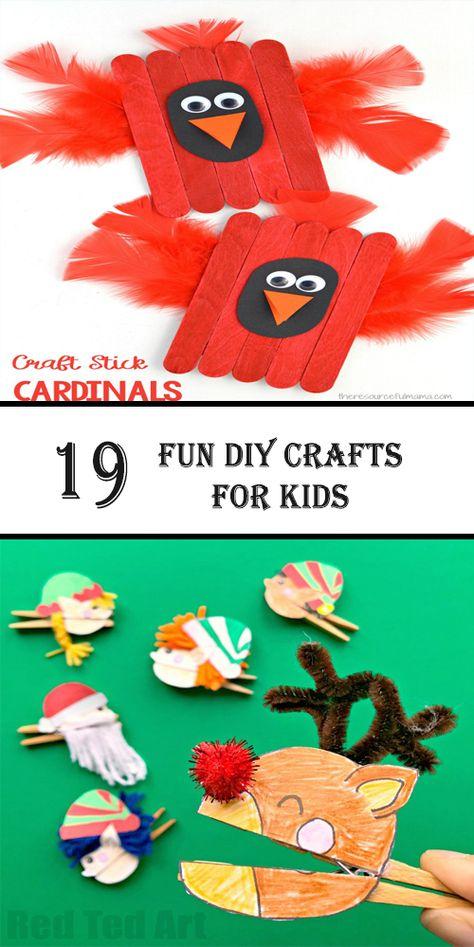 19 fun DIY crafts for kids – 10 So Peachy