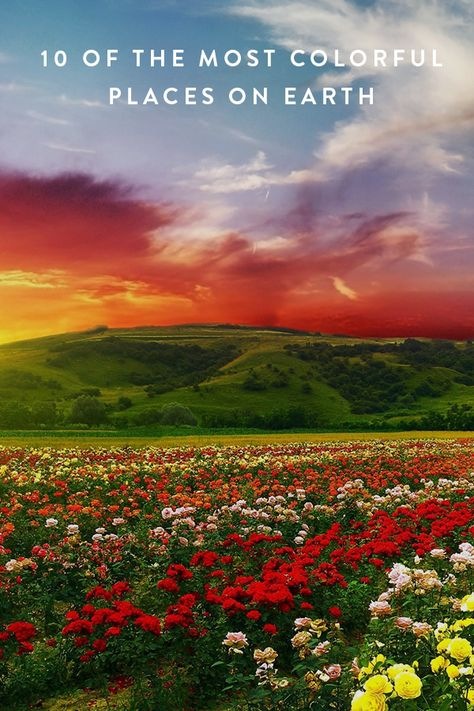10 Of The Most Colorful Places On Earth Scenery Wallpaper