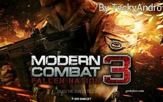 Modern Combat 3 Hello Guys I M Back Again With A New Game Modern Combat 3 Basically This Game Is A First Person Shooter Fps Be