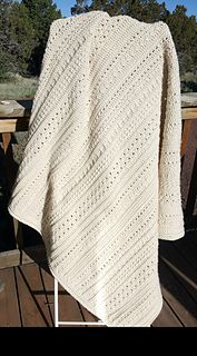 This is a crochet pattern for a sampler blanket.