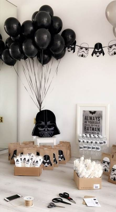 Trendy Birthday Party Ideas For Men Decoration Star Wars Ideas Star Wars Theme Party Star Wars Baby Shower Star Wars Party Decorations