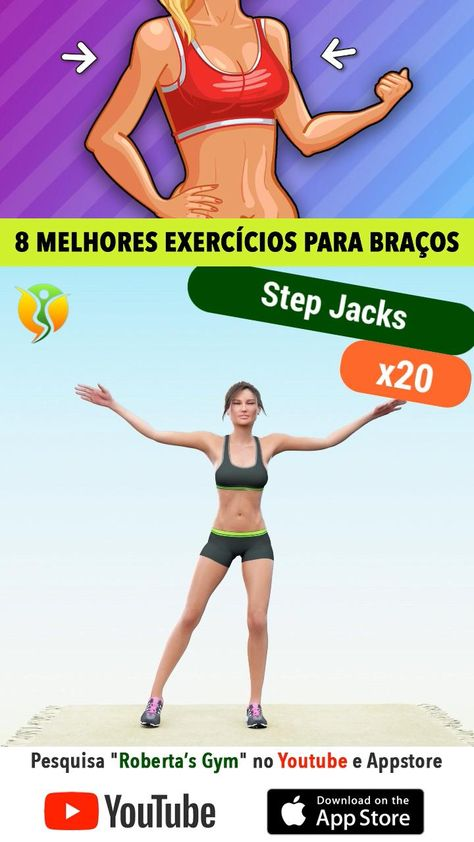 Braços E Ombros: Os 8 Melhores Exercícios