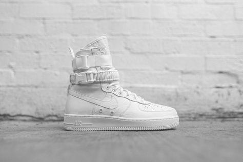 Nike SF AF1 Triple White | Nike sf af1, Me too shoes, Nike