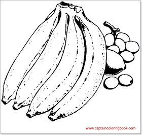 Coloring Pages Of Banana In 2021 Fruit Coloring Pages Coloring Pages Apple Coloring Pages