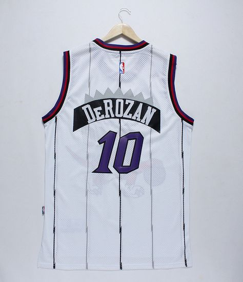 dcb0456baea Men's NBA Toronto Raptors #10 DeRozan White Jersey | wholesale cheap ...
