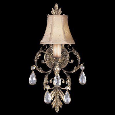 Fine Art Lamps A Midsummer Nights Dream 1 Light Candle Wall Light Fine Art Lamps Wall Candles Lamp