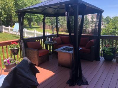 783ed73dfc9f19871905c91e422a777b - Better Homes And Gardens Sullivan Ridge Hardtop Gazebo With Netting