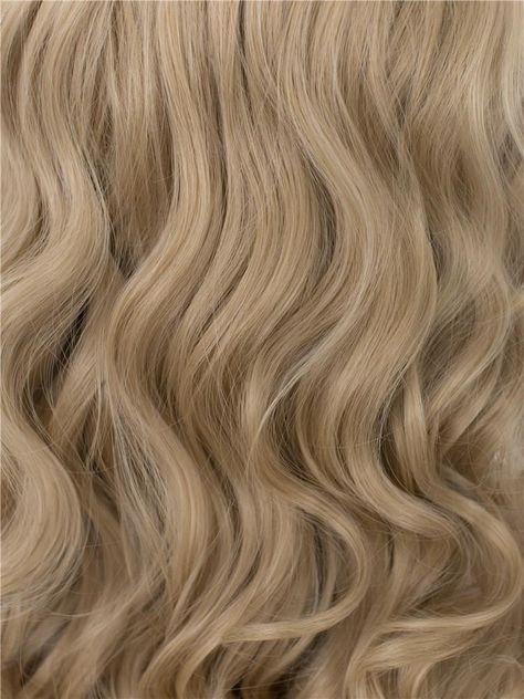 Grace - Honey Blonde Long Wavy Synthetic Lace Front Wig AM716613