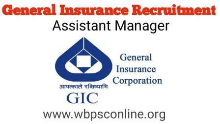 General Insurance Of India Recruitment 2018 Apply Online For 24
