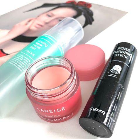 Product Review Laneige Lip Sleeping Mask Cosrx Cooling Aqua
