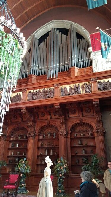 Pipes For Organ In Main Dining Room