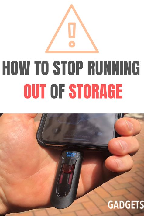 Stop Running Out Of Storage