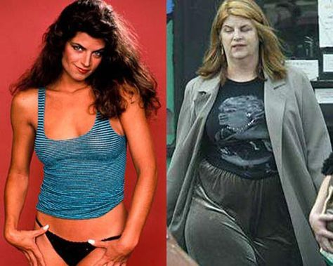 Celebs Who Got Overweight - 26 Pics Kristie Alley These celebs looked hot, beautiful and fit while entering in the industry but after getting famous they got overweight. Here are celebs who got overweight.