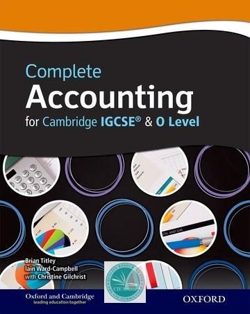 Complete Accounting For Cambridge O Level IGCSE Paperback