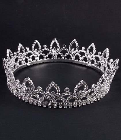 Fabuleux eBay | BIJOU MARIAGE DIADEME Miss Sud de France Cristal perles  GR56