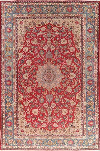 Antique Traditional Floral Joshaghan Oriental Wool Area Rug Hand Knotted Red Persian Carpet 10x15 15 1 X 9 11 Wool Area Rugs Area Rugs Rug Sale