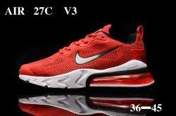 Nike Air Max 270 React V3 University Red White Black Unisex