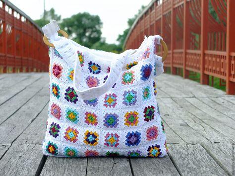 1eaad350dfac Купить Летняя вязаная сумка