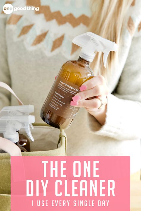 How To Make An Easy All-Purpose Cleaner For Everyday Messes
