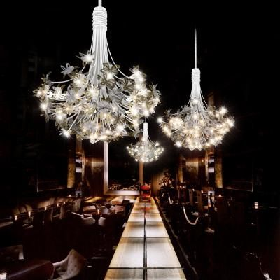 Architectural Lighting For High Ceilings Large Scale Interior Lighting Floor Lights With Images Custom Light Fixtures Custom Lighting Lighting