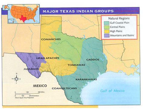 Regions Of Texas Map 4th Grade.Pinterest
