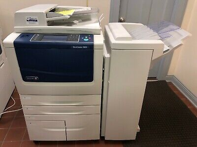 Details About Xerox Workcentre 5855 Mfp Black Printer Copier Scan