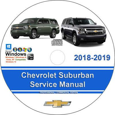 Advertisement Ebay Chevrolet Suburban 2018 2019 Factory Workshop