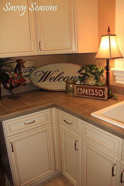 Pin By Mom Among Chaos On Home Is Where Tuscan Kitchen Kitchen Decor Kitchen Counter Decor