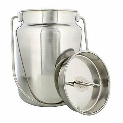 Ebay Ad Link Rural365 Metal Milk Jug 4 Liter 1 Gal Stainless Steel 4 Liter 1 Gallon In 2020 Metal Milk Jug Milk Storage Milk Cans