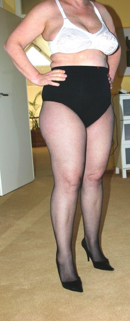 Chubby Granny Stockings