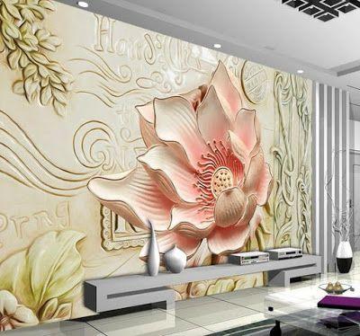 ورق الحائط أكثر جاذبية و إخفاء العيوب أجمل الأشكال Papier Peint 3d Wall Murals Wall Wallpaper Mural Wall Art