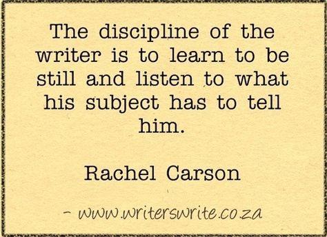 Quotable - Rachel Carson