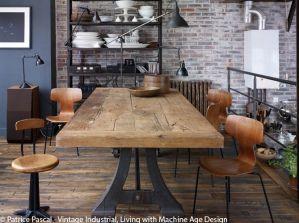 5 Styles Vintage A Copier Maison Salle A Manger Style Industriel
