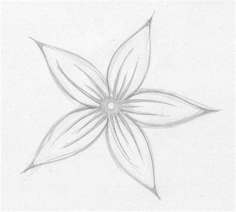 Image Result For Easy Sketches Of Flowers Flower Sketches Easy