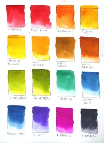 Testing Viviva Colorsheets Sketch Book Viridian Persian Blue