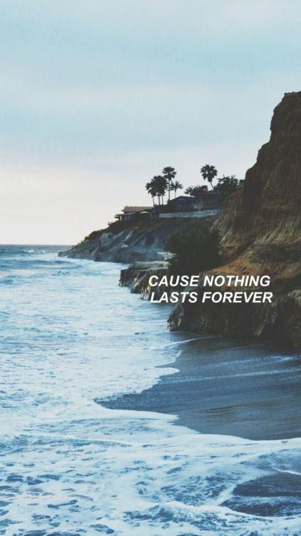 Pin By Sadaf On Wallpaper W Lyrics Tumblr Background Beach