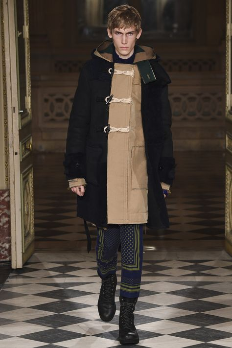 Sacai Fall 2016 Menswear Fashion Show