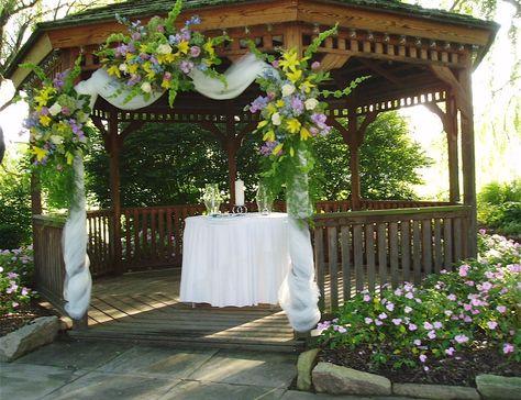 Gazebo Outdoor Wedding Decorations Ideas
