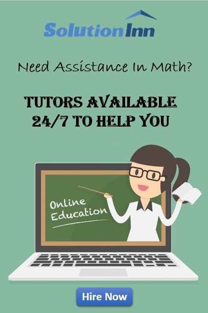 Solve Your Math Homework With Online Tutors Get Math Homework