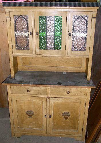 Details zu Alter Küchenschrank von ca1930 - esszimmer 1930